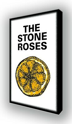 The Stone Roses, Ian Brown - Lemon - Wall Canvas Picture Print Wall Art 63x40cm • 20£