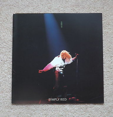 Simply Red   A New Flame World  Tour Programme, 1989. • 3.99£