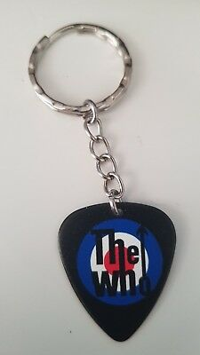 The Who Guitar Pick Keychain / Keyring • 3£