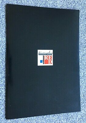 Simply Red, End Of The World Tour Programme And Ticket - 1987 • 5.50£
