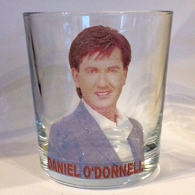DANIEL O'DONNELL FRUIT JUICE/WHISKY GLASS Mixer Glass • 8.95£
