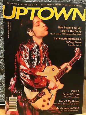 PRINCE UPTOWN ISSUE #36! - The Leading Magazine For Prince Fans And Collectors • 25£