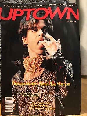 PRINCE UPTOWN ISSUE #34! - The Legendary Magazine For Prince Fans And Collectors • 29£