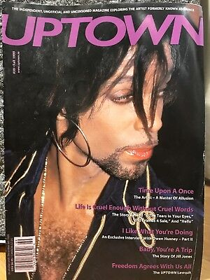 PRINCE - UPTOWN MAGAZINE #39 - The Leading Magazine For Prince Fans & Collectors • 29£