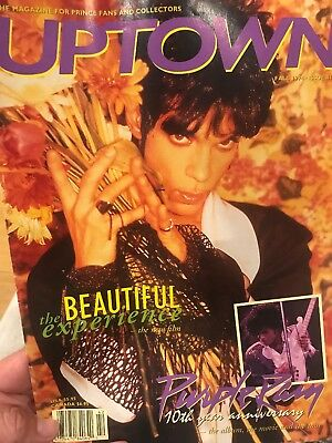 PRINCE UPTOWN ISSUE #14 - The Leading Magazine For Prince Fans And Collectors • 29£