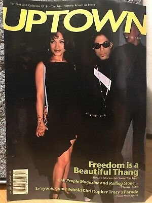 PRINCE UPTOWN ISSUE #29! - The Leading Magazine For Prince Fans And Collectors • 29£