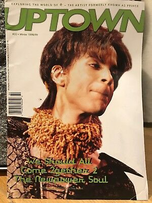 PRINCE UPTOWN ISSUE #35! - The Leading Magazine For Prince Fans And Collectors • 29£