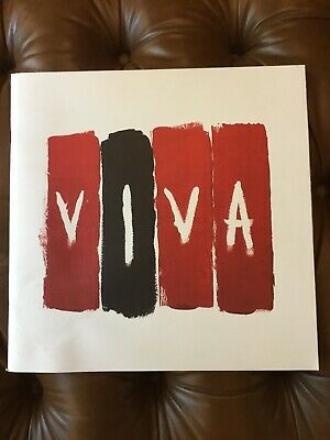 COLDPLAY VIVA 2008 TOUR / CONCERT PROGRAM BOOK! Excellent Condition! • 10.22£