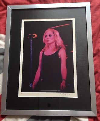 Debbie Harry Limited Edition Mick Rock Photo Print 12/50 Signed By Mick Rock • 699.99£