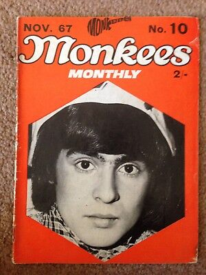 THE MONKEES ORIGINAL MONTHLY No 10 NOVEMBER 1967 • 10.99£