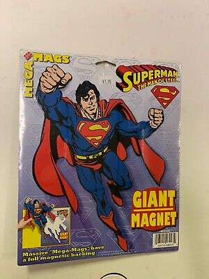 Superman The Man Of Steel Mega Mags Giant Magnet 1997 • 7.71£