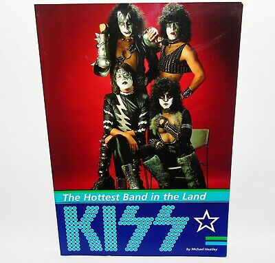 KISS The Hottest Band In The Land Michael Heatley 1997 1st Edition  • 84.99£