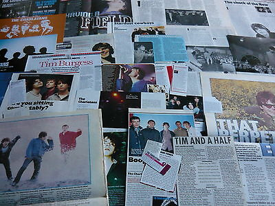 The Charlatans - Magazine Cuttings Collection (ref Z18) • 4.95£