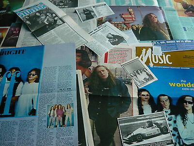 The Wonder Stuff - Magazine Cuttings Collection (ref S12) • 4.95£