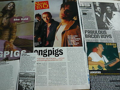 Longpigs - Magazine Cuttings Collection (ref Z4) • 5.95£