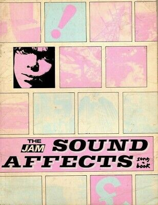 The Jam Sound Affects Song Book 1980 • 30£