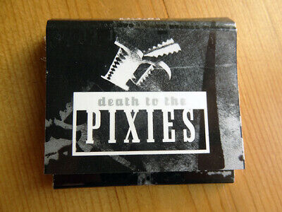 PIXIES ~ DEATH TO THE PIXIES ~ Rare 1997 4AD PROMOTIONAL BOOK OF MATCHES ~ NEW • 9.99£