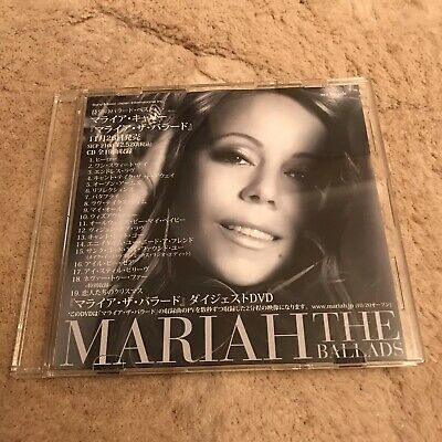 Mariah Carey - THE BALLADS, Japan Promo DVD ***rare*** • 40£