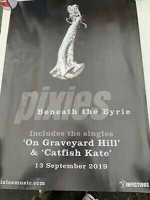 Pixies Beneath The Eyrie Original  Promotional Poster New Unused • 14£