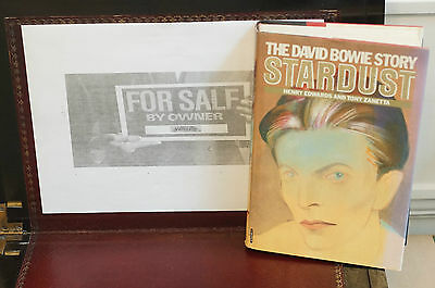 Rare David Bowie Stardust The David Bowie Story Hard Cover 1st Ed Mc Graw Hill • 47.72£
