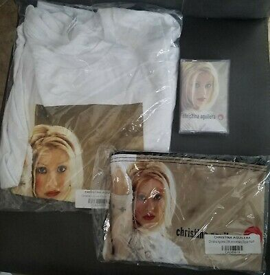Christina Aguilera 20th Anniversary T-shirt (Large), Bag, Cassette Tape  • 39.70£