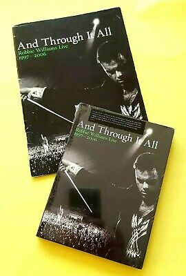 Robbie Williams - And Through It All - Promo Booklet Plus Sealed Dvd • 5£