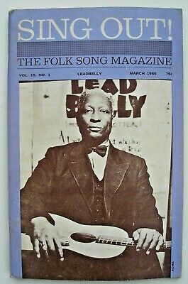 SING OUT - The Folk Song Magazine - 3 Volumes From 1965/66 • 21.50£