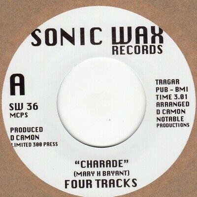 Four Tracks  Charade Sonic Wax SW36 Soul Northern Motown • 10£