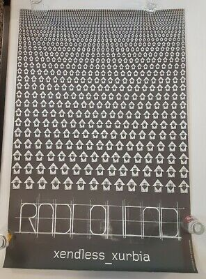 "Radiohead,""xendless Xurbia, Rare Authentic Licensed 2006 Poster • 144.46£"