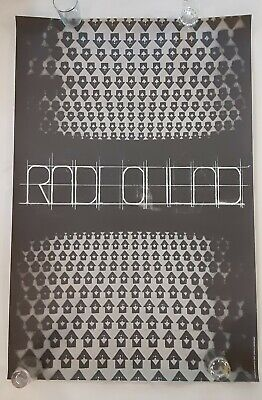 "RADIOHEAD,""XENDLESS XURBIA, RARE AUTHENTIC LICENSED 2006 POSTER NYC Variant • 129.64£"