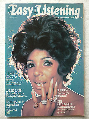 Easy Listening Magazine No.3 - March 1973 (shirley Bassey Living With Stereo) • 40£