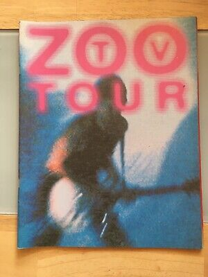 U2 Zoo Tv Tour Programme 1992/3 • 26.50£