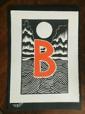 Radiohead Stanley Donwood Bad Island Limited Print. Rare - Invite Only Print Run • 210£