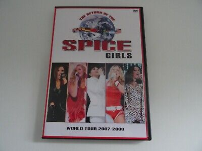 Spice Girls World Tour 2007/2008 Dvd Rare Wannabe Spice Up Your Who Do You Think • 10.50£