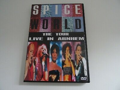 Spice Girls Spice World The Tour Live In Arnhem Dvd Wannabe Say You'll Viva   • 12.50£
