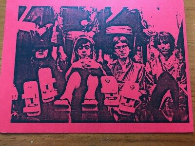 Rare R.e.m. 1984 Holiday Postcard In Japan Printed Card Sent From Athens Ga  • 55.58£