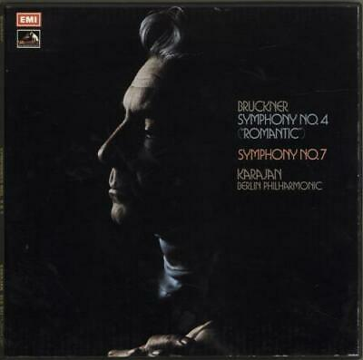 Anton Bruckner Vinyl Box Set Symphony No. 4 ( Romantic ) / Symphony No. 7 UK • 34.60£