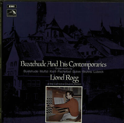 Lionel Rogg Buxtehude And His Contemporaries Vinyl Box Set UK SLS801/2 • 24.60£