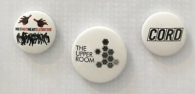 Indie Band Tour Badges X3 Early 2000s • 1£