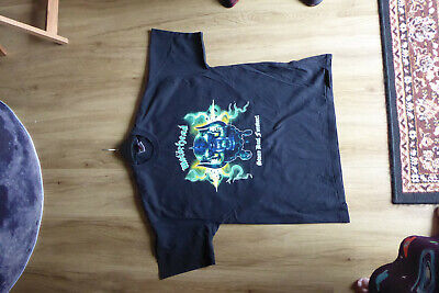 XL MOTÖRHEAD Stone Deaf Forever SHORT SLEEVE TOUR T SHIRT.. • 4.60£