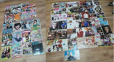 Busted James Bourne Matt Willis 20 Magazines And Pile Of Posters Interviews • 6£