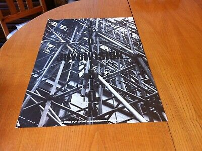 Joy Division An Ideal For Living Original Promo Poster 1978 - Size = 25  X 17  • 65£