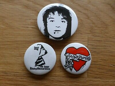 BABYSHAMBLES - Official 3 Button Badge Set #2 - THE LIBERTINES Pete Doherty NEW • 1.49£