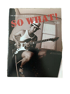 Metallica So What Magazine Volume 4 Issue 1 • 2.60£