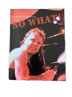 Metallica So What Magazine Volume 4 Issue 2 • 2.60£