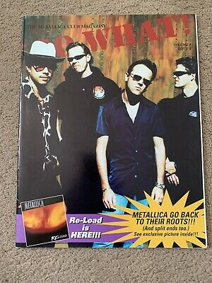 Metallica So What Magazine Volume 4 Issue 4 • 2.60£
