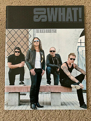 Metallica So What Magazine Volume 19 Issue 2 The Black Album Issue • 2.60£