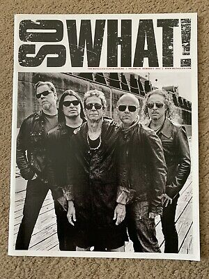 Metallica So What Magazine Volume 18 Issue 3 - Includes 'Tallica Pull Out Poster • 2.60£