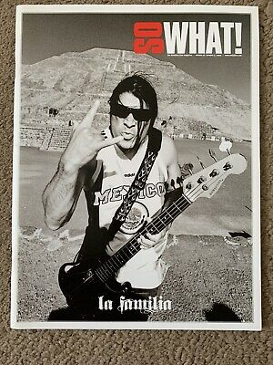 Metallica So What Magazine Volume 16 Issue 3 - La Familia • 2.60£