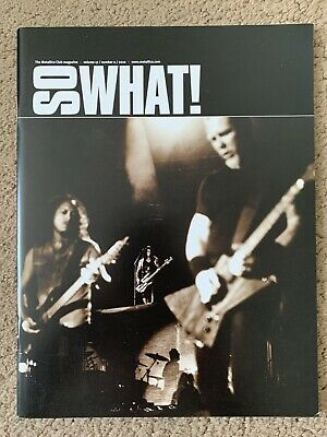 Metallica So What Magazine Volume 17 Issue 2 Incs- Two Sided Pull Out Poster • 2.60£